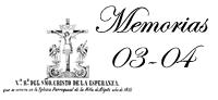 Memoria 2003 - 2004